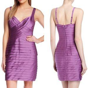 BCBG purple Mitzi Satin Dress size 2